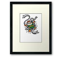 Dexter Octopus Framed Print