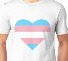 Transgender Pride Heart Unisex T-Shirt