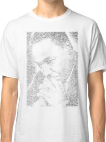 Martin Luther King Jr. - MLK Typographic Classic T-Shirt