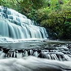 Purakanui Falls - New Zealand by Kimball Chen