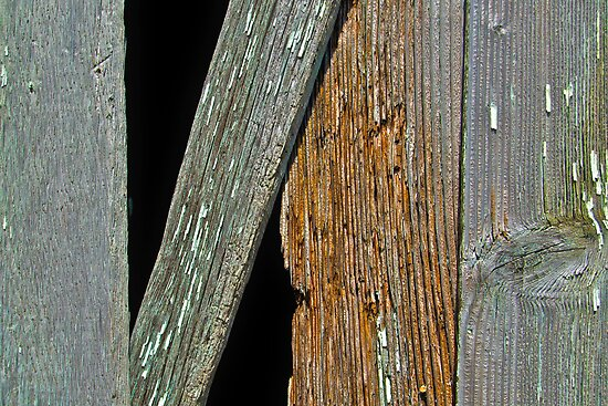 Weathered Boards by Scott Johnson