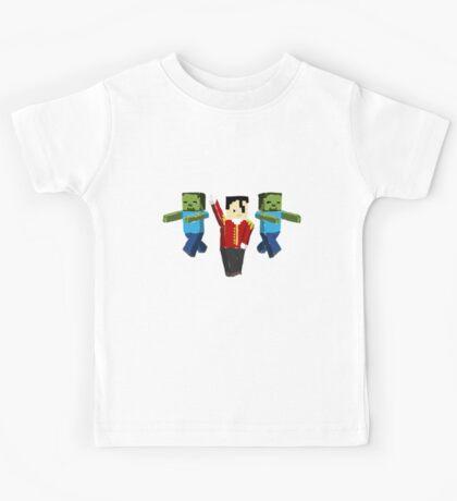 Mine cheal  Craft son  - Beat it Kids Tee