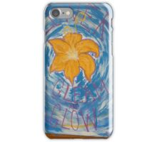 Flower, Gleam and Glow iPhone Case/Skin