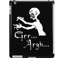 grr argh  iPad Case/Skin