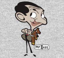 Mr Bean Cartoon Kids Clothes