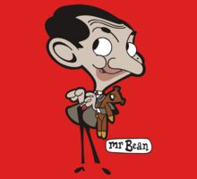 Mr Bean Cartoon Kids Clothes