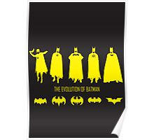 The Evolution of Batman (Posters & Prints) Poster