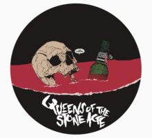 queens of the stone age skull bottle by upcs