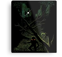 A Case For Mulder & Scully Metal Print