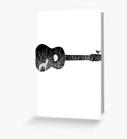 Night sounds Greeting Card
