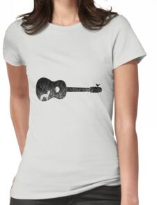 Night sounds Womens Fitted T-Shirt