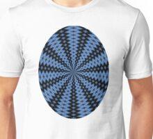 Blue & Black Unisex T-Shirt