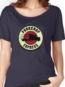 Planet Porkchop Express Women's Relaxed Fit T-Shirt