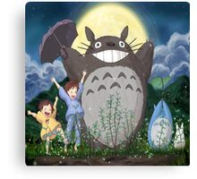 Totoro gang funny  Canvas Print