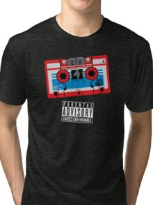 Rumble / Frenzy Red Mix Tape 1984-1986 Tri-blend T-Shirt