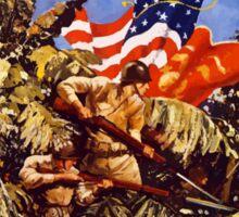 Let's Go Get 'Em! U.S. Marines Sticker