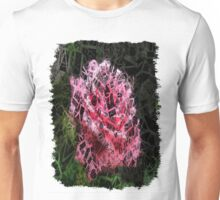 Pink Roses in Anzures 4 Letters 2 Unisex T-Shirt