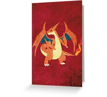 Mega Charizard Greeting Card
