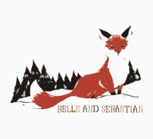 "Belle & Sebastian "" Fox In The Snow "" by DelightedPeople"