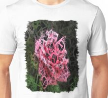 Pink Roses in Anzures 4 Letters 4 Unisex T-Shirt