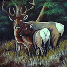 Forest Royality #2 by Susan Bergstrom