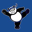 Martial Arts Panda 2 - Blue by Adamzworld