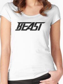 KSI Beast Merchandise  Women's Fitted Scoop T-Shirt