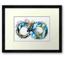Infinity Dragon Framed Print
