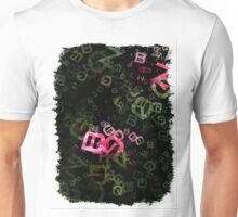 Pink Roses in Anzures 5  Letters 3 Unisex T-Shirt