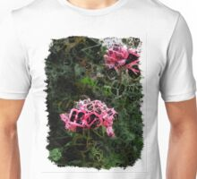 Pink Roses in Anzures 5  Letters 4 Unisex T-Shirt