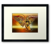 the VENUSIAN  Framed Print