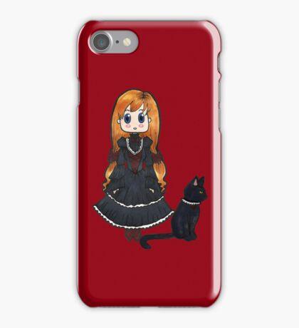 Gothic Lolita - No Text iPhone Case/Skin