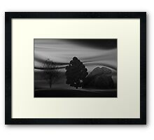 ©DA Concept Tree IB Monochrome Framed Print