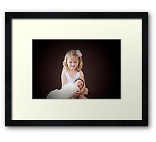 Mia and Millie 2013 Framed Print