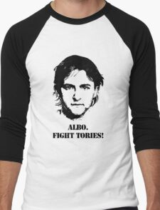 Albo. Fight Tories! Men's Baseball ¾ T-Shirt