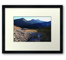 Shadowy Highwood II Framed Print