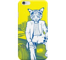 Meowi Vice - Crockett iPhone Case/Skin