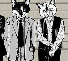 Feline-up - Keaton & Verbal by GritFX
