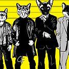Feline-up - McManus & Fenster by GritFX