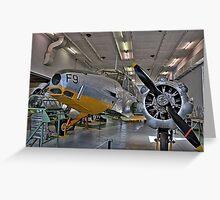 Airplane HDR Greeting Card
