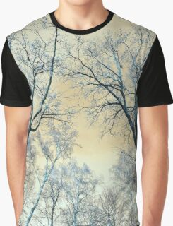 Trees Infrared Nature Graphic T-Shirt