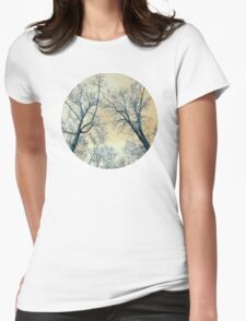Trees Infrared Nature Womens Fitted T-Shirt