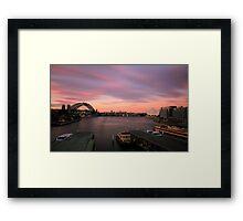 99 Seconds of Sydney Framed Print