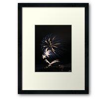 Festival Fireworks at Edinburgh Castle Framed Print