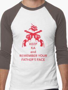 Keep KA - red edition Men's Baseball ¾ T-Shirt