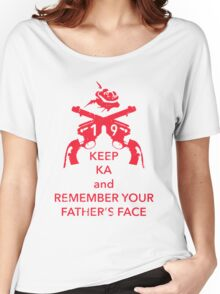 Keep KA - red edition Women's Relaxed Fit T-Shirt