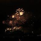 Festival Fireworks at Edinburgh Castle by Sue Fallon Photography