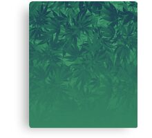 Gradient weed Canvas Print
