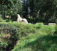 Sphinx - The castle park Veltrusy I. by Natas