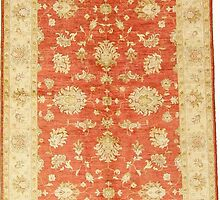 5' 1 x 6' 11 Classic Ziegler Oriental Rug by nathanwoo1019